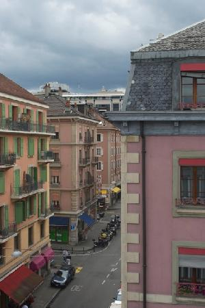 Residence Studio Geneve Centre: view from room 52