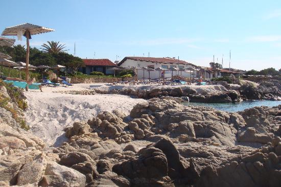 Hotel Sporting : Strand direkt vor dem Hotel