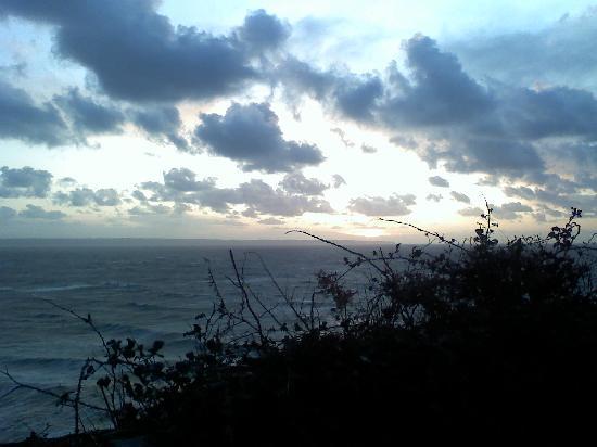 Thistledoo Bed & Breakfast Croyde: sunset