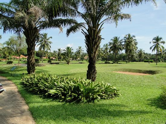 The Leela Goa: Golf course