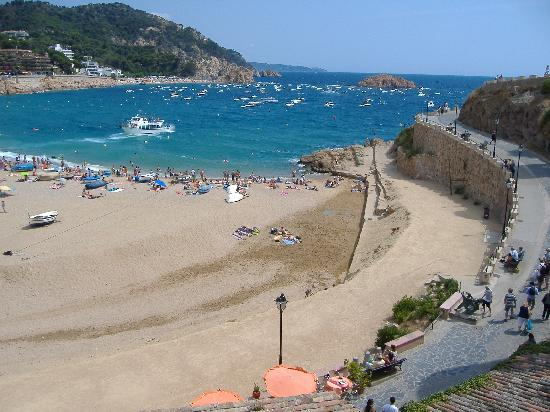 Hotel GHT Costa Brava: Beach/Bay at Tossa de Mar