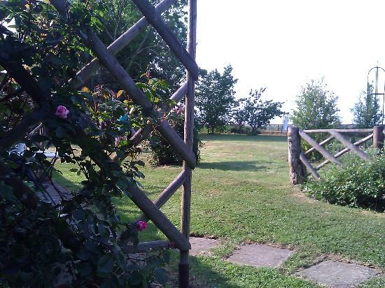 Le Grys Barn: View Outside Garden Room