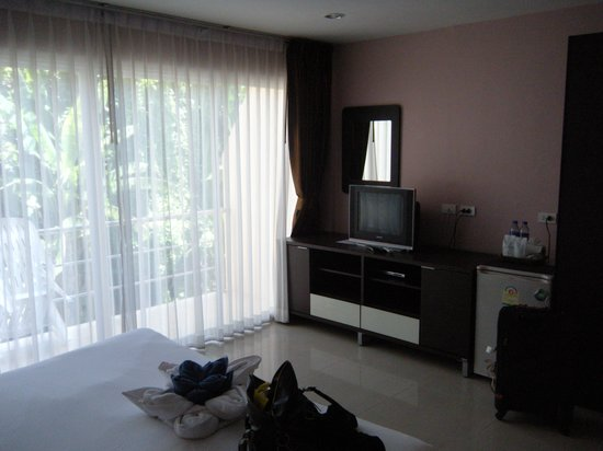 Athome Hotel @Nanai 8 & Thai Kitchen : my room