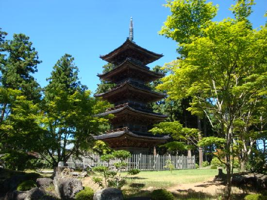 Myosenji Temple: 妙宣寺五重之塔