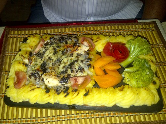 Little Chef : chicken plank!! amazing portions:))