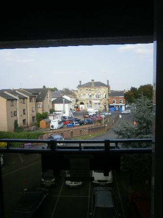 The Oliver Cromwell Hotel: the view