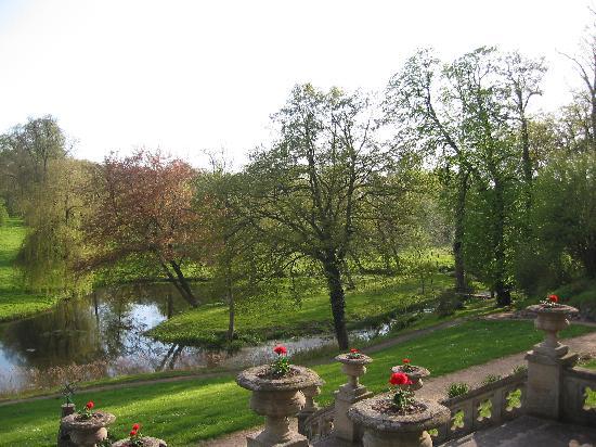 Schlosshotel Kittendorf: Der Gartenblick