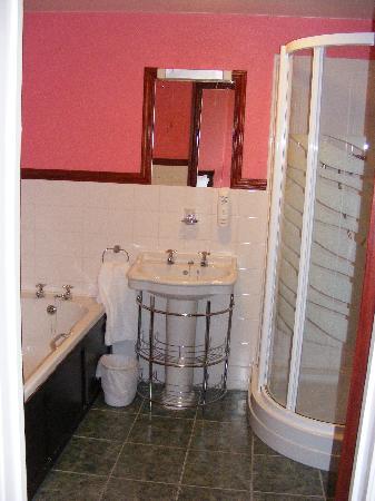 Buckley Arms Hotel : Snowdon Room bathroom