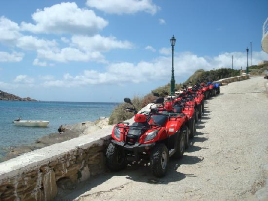 Ios Palace Hotel: ATV ISLAND RENTALS