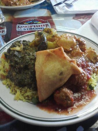 The Food Is Spiced Just Right And Is Very Flavorful Picture Of