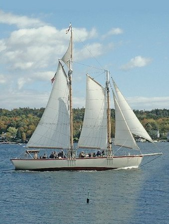 Boothbay Harbor, ME: Eastwind Underway