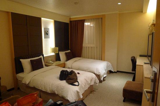 K Hotel (Keelung): Twin room