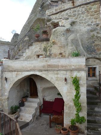 Koza Cave Hotel room entrance