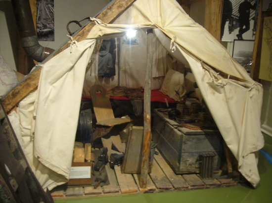 MacBride Museum: alloggio cercatori