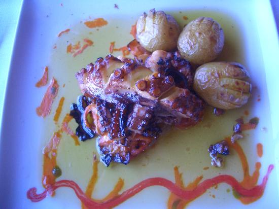 Taylor's Port : Slow Roasted Squid