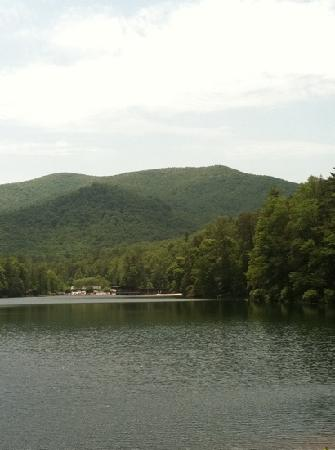 Vogel State Park: lake view