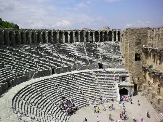 Aspendos Ruins and Theater: Theatre