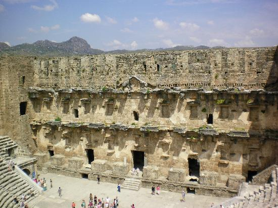 Aspendos Ruins and Theater: Stage