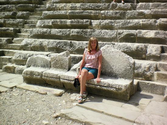 Aspendos Ruins and Theater: Royal Seats