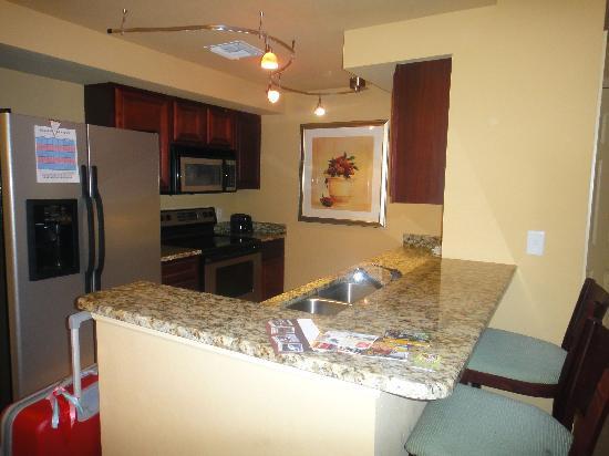 Lake Eve Resort: Kitchen