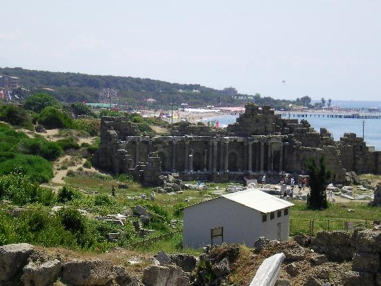 The amphitheatre - Picture of Greek Amphitheater, Side ...