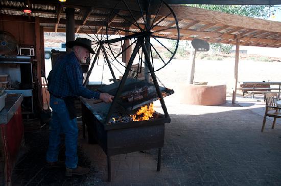 Swinging steak mexican hat utah