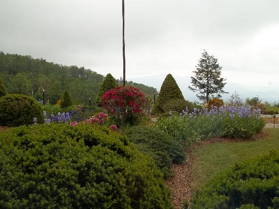 Switzerland Inn: Beautiful landscaping