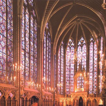 Sainte-Chapelle: What it looks like without construction
