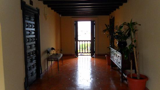 Hotel El Convento: Guest room door.