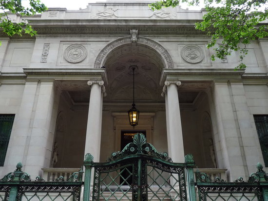 The Morgan Library & Museum: The Morgan Library - original library entrance
