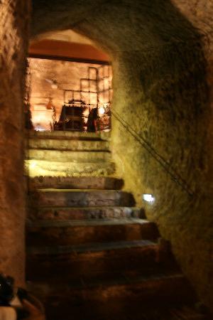 La Taverna di San Giuseppe: Stairway to heaven