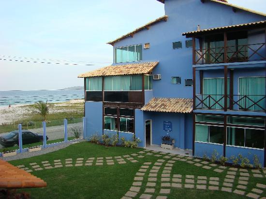 Pousada Laguna: Vista a la playa y al Mar