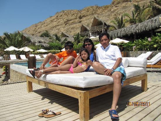 Hotel Grand Mare & Bungalows: Con mi familia Sol, Arena y Playa