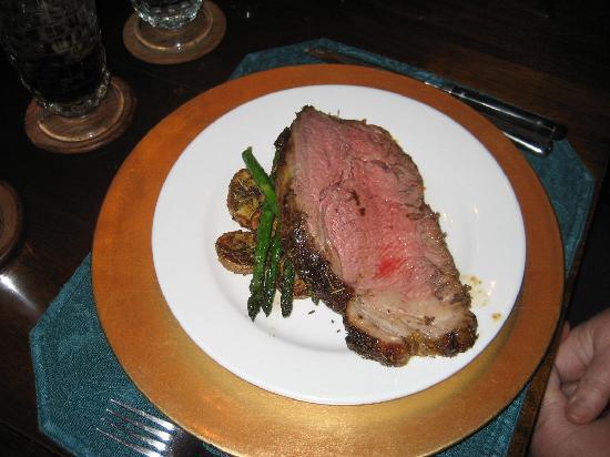 Chestnut Street Inn: Delicious prime rib