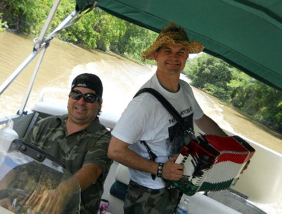 Lafayette, LA: Our boat captains, John and Jim