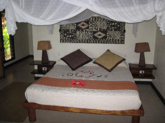 Tokoriki Island Resort: The bedroom