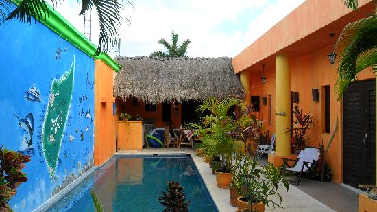 Casita de Maya: the pool