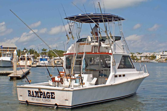Picture of rampage fishing charters key west for Key west fishing boats