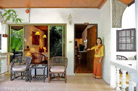 Tropica Resort and Restaurant: Welcome Tropica Bungalow