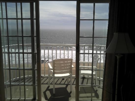 Paradise Plaza Inn: View from bedroom