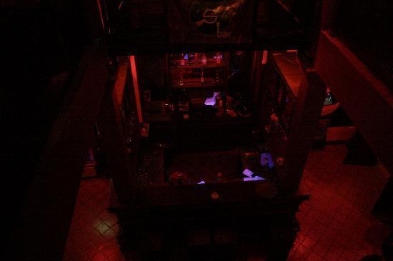 S Bar & Restaurant: Bar From the 1st floor
