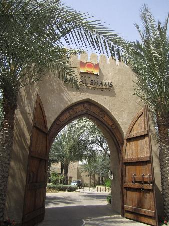 Bab Al Shams Desert Resort & Spa: Entrance