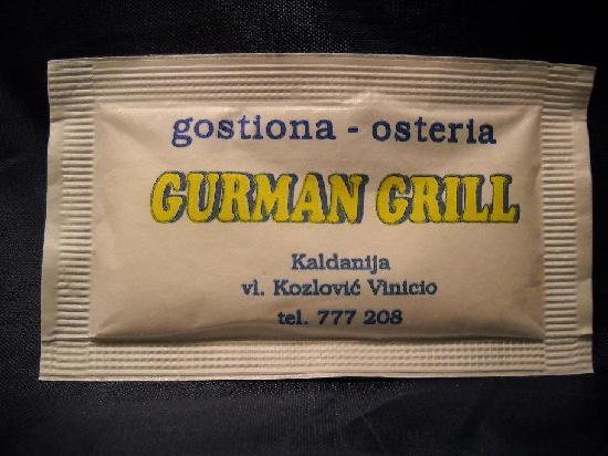 Gurman Grill: info