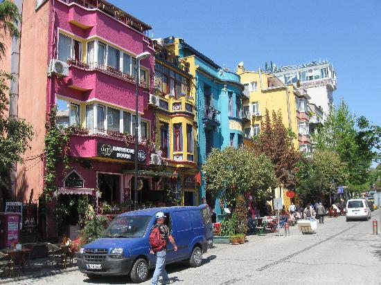 Colourful House in Istanbul