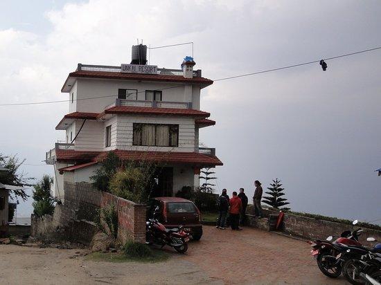 Nagarkot, Nepal: 宿の外観