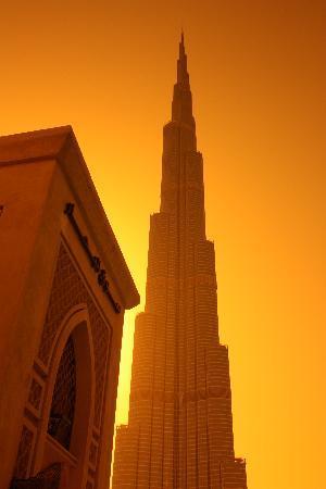Vida Downtown Dubai: burj khalifa