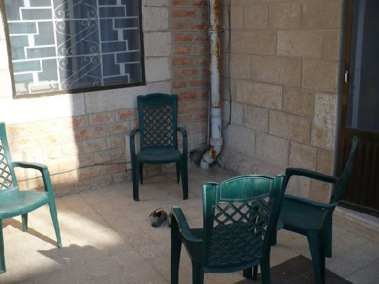 Alcazar Hotel: il terrazzino della stanza 202