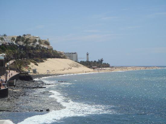 Hotel Faro Jandia & Spa: Jandia beach from Morro Jable