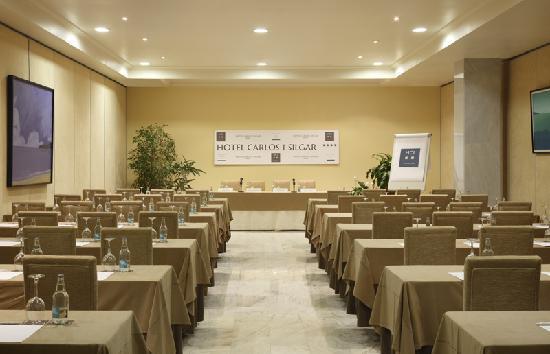 Hotel Carlos I Silgar: Sala Reuniones