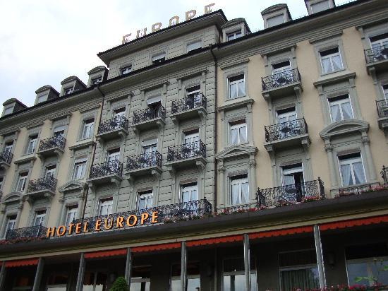 Grand Hotel Europe Exterior
